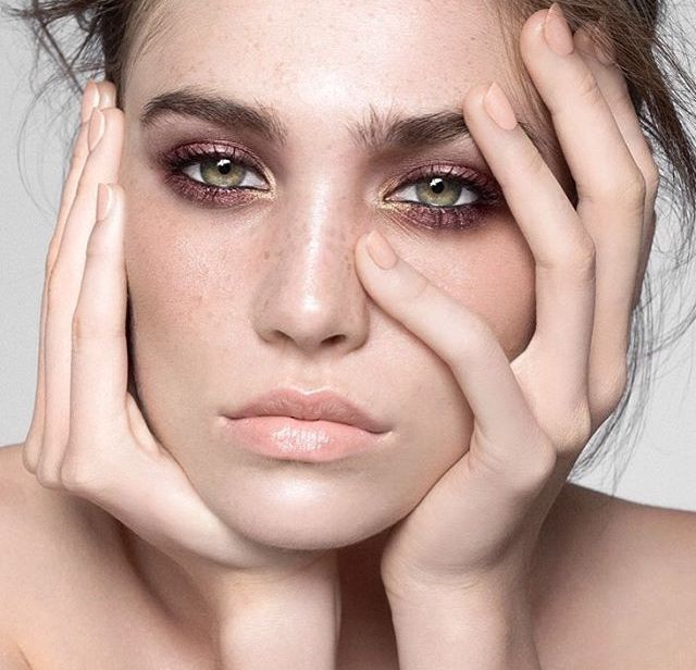 metalics. beautiful metallic eye makeup inso