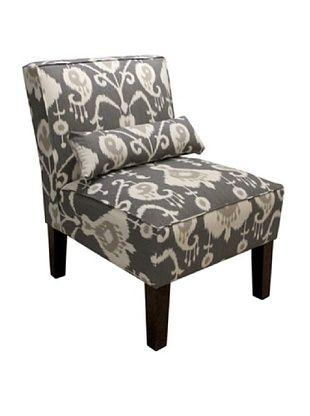 51% OFF Skyline Armless Chair, Pewter