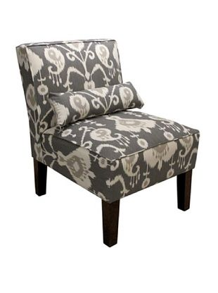 51% OFF Skyline Armless Chair, Pewter