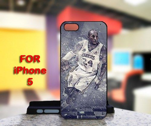 Kobe Bryant LA Lakers For IPhone 5 Black Case Cover