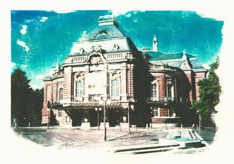 'Hamburg+Laeiszhalle+(Musikhalle)'+von+liga-visuell+bei+artflakes.com+als+Poster+oder+Kunstdruck+$17.33