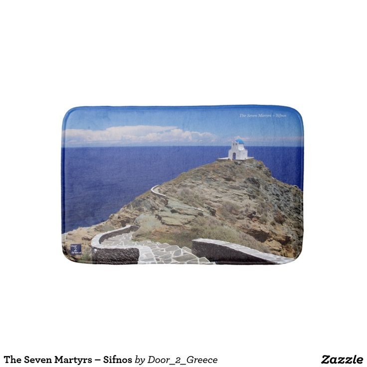 The Seven Martyrs – Sifnos Bath Mats