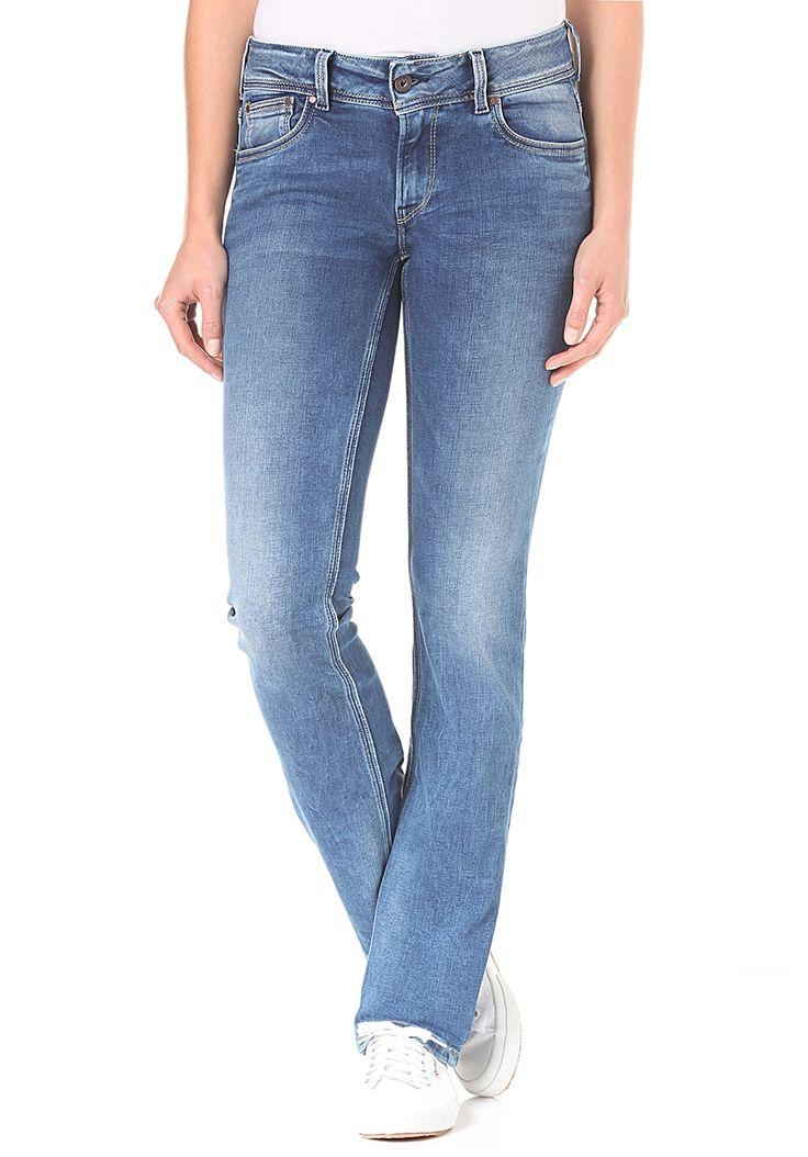Pepe Jeans Saturn Jeans für Damen #Frauenmode #Fashion #Bekleidung #Mode #Damen #Hosen #Jeans