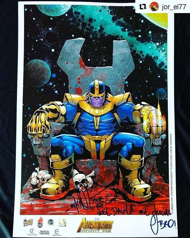Thanos Limited Edition Print