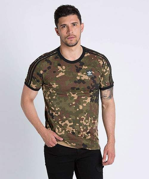 cedd306e adidas Originals AOP Camouflage T-Shirt #adidas #adidasoriginals  #adidasbystellamccartney #tshirt #tshirtdesign #tees #fashion #pants #jacket