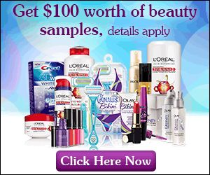 Free $100 Beauty Samples Gift Card http://azfreebies.net/free-100-beauty-samples/