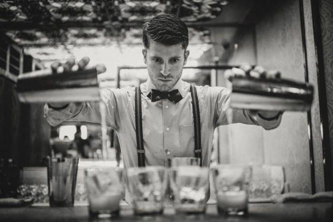 Hire a cocktail bartender in London www.hireabarman.com