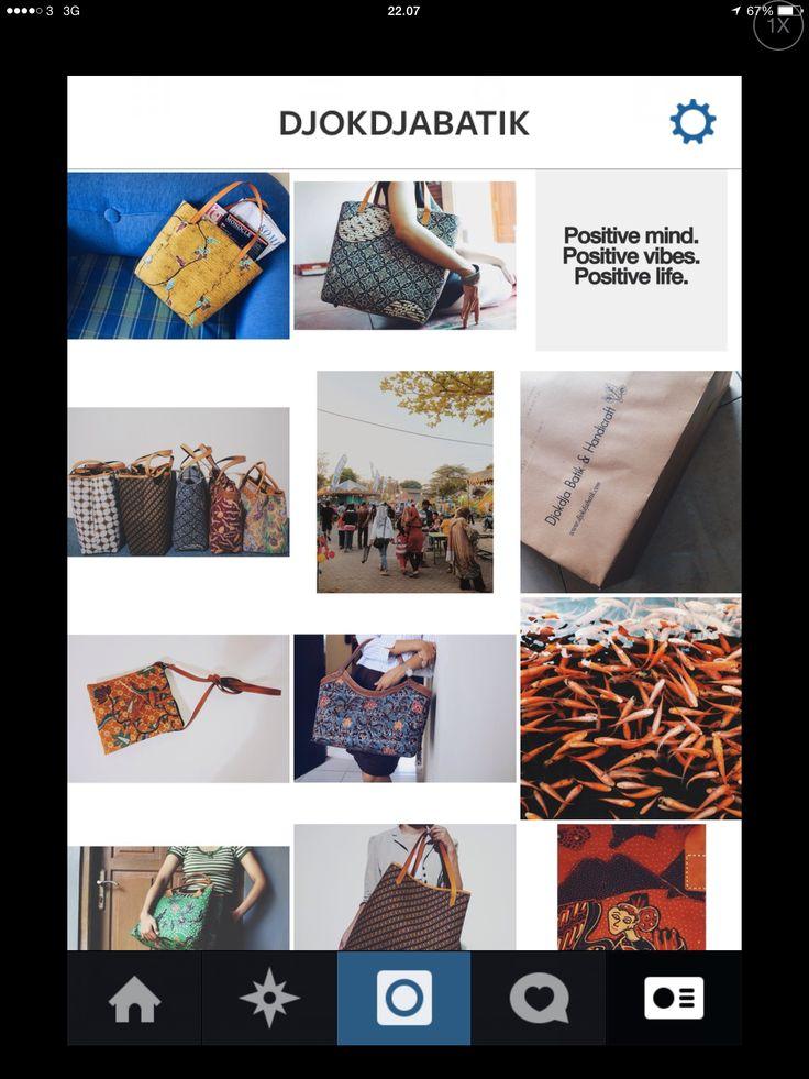 Djokdja Batik on instagram @djokdjabatik