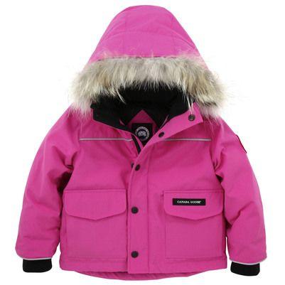 baby pink canada goose jacket