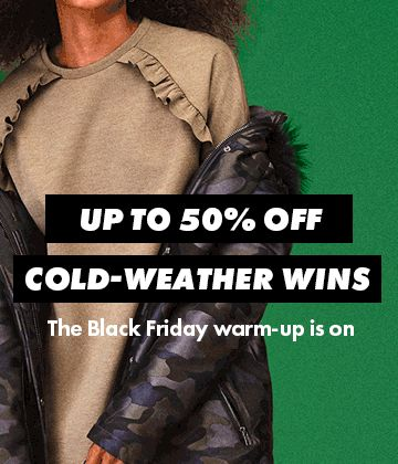 "11.20 ASOS ""Up to 50% off winter warmers"" cold-weather wins"