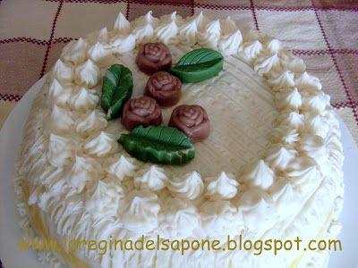 La Regina del Sapone: torta-sapone di auguri! - come realizzarla