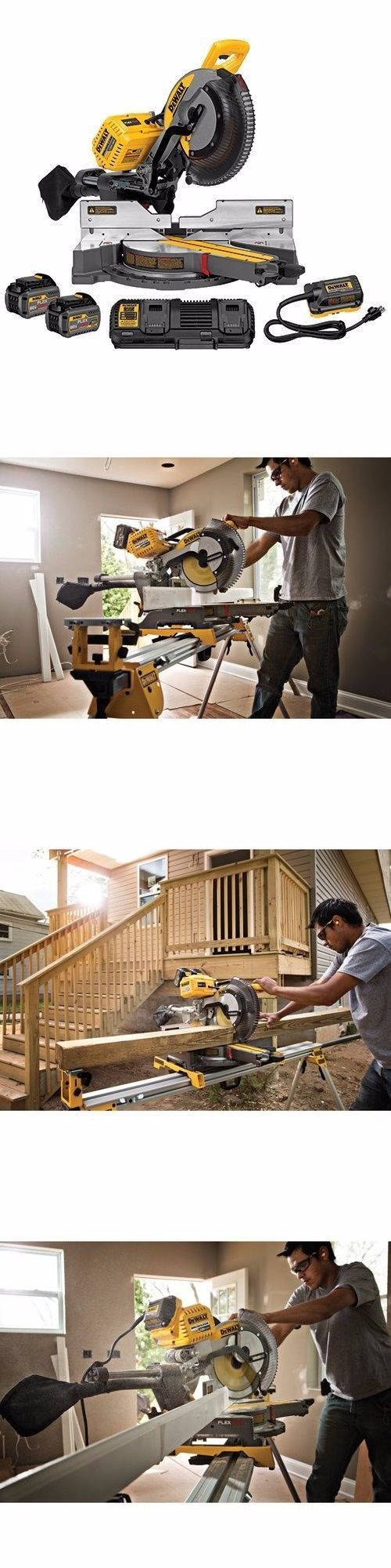 "Other Power Saws and Blades 122838: Dewalt Dhs790at2 Flexvolt 120V Max 12"" Double Bevel Sliding Miter Saw Kit -> BUY IT NOW ONLY: $850 on eBay!"