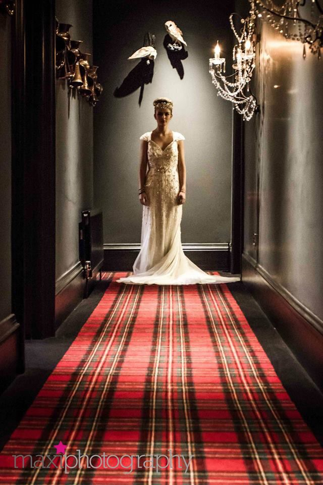 Wedding Shoot at Glazebrook House Hotel, South Brent. What a glamourous boutique wedding venue!