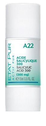 Acide Salicylique 300mg État pur 13,90€