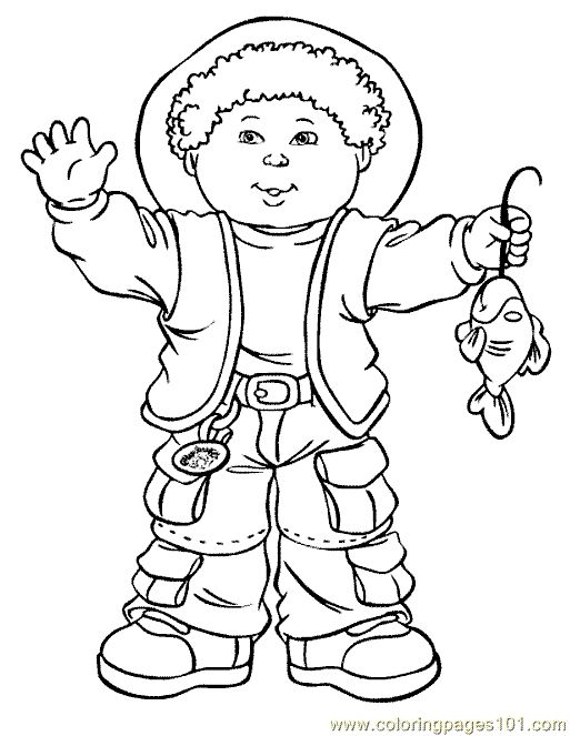 cabbage patch kids coloring pages coloring page cabbage patch kids coloring page 07 cartoons
