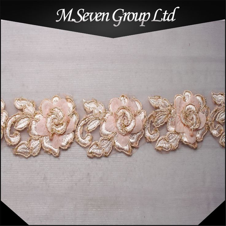 684 best lace etc images on pinterest guangzhou acrylic nail 2016 summer item 5cm embroidery wedding trim embroidery wedding lace fashion wedding trim for wedding laceguangzhou junglespirit