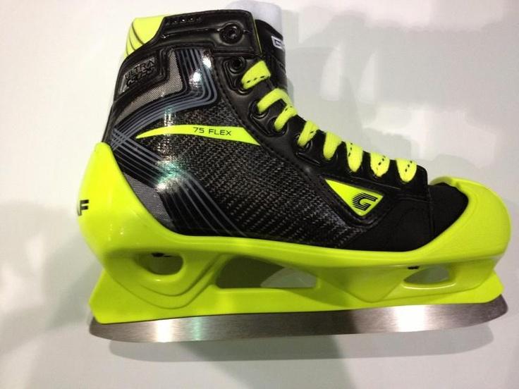Loud Graf goalie skates. Hummmmm, interesting...