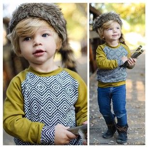 Mag+Pie Raglan Pullover Spotted | 21 Kids Who Were Cooler Than You In 2014