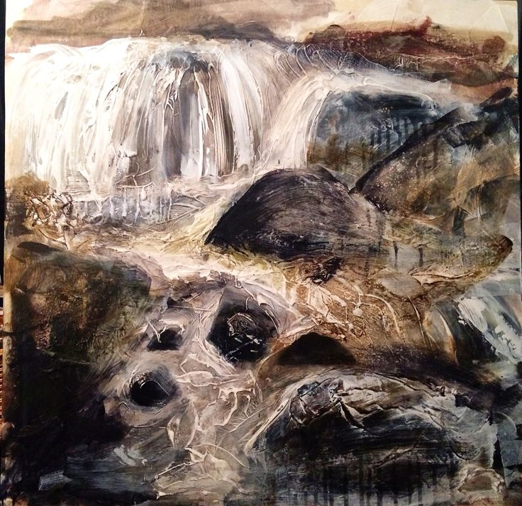 'Run Wild' - Acrylic & Gesso on Plyboard ... This work will be available at Ffin Y Parc Gallery in 2015 www.welshart.net