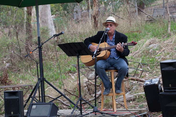 Australia Day listening to local talent at Sinclairs Gully Winery