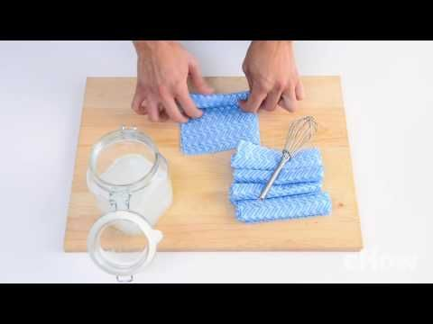Making your own DIY Bathroom Cleaning Wipes is a great way to save money and help the environment. They will leave your bathroom sparkling and clean!