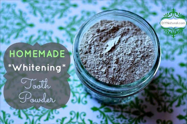 Blog » How To Make Your Own All-Natural Herbal Tooth Whitening Powder