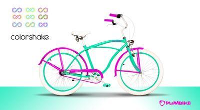 Plumbike for Colorshake mint/pink - Colorshake
