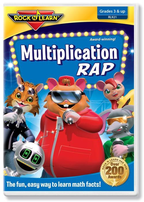 8 best multiplication 3rd grade math multiplying facts through multiplication rap dvd fandeluxe Images