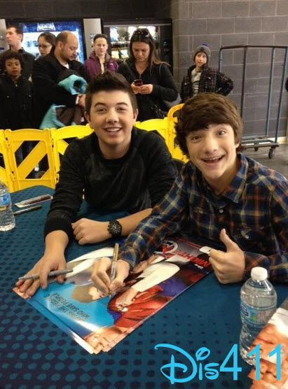 Photos: Bradley Steven Perry And Jake Short With Fans February 8, 2014