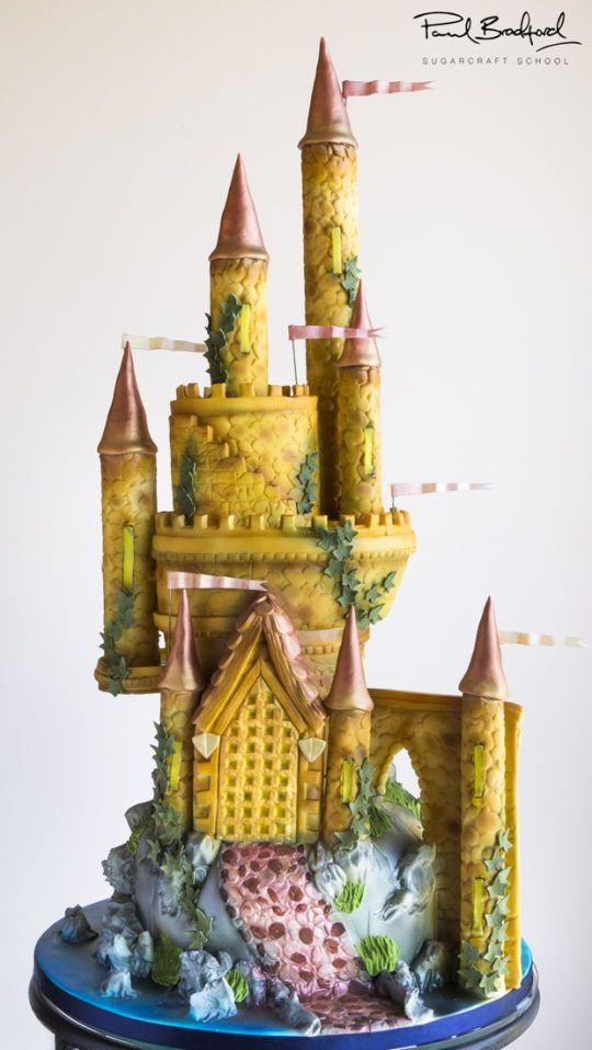 Enchanted Castle Cake