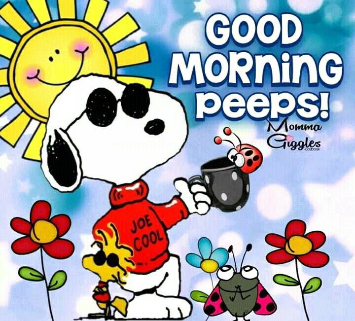 Good morning | Good morning snoopy, Good morning cartoon ...
