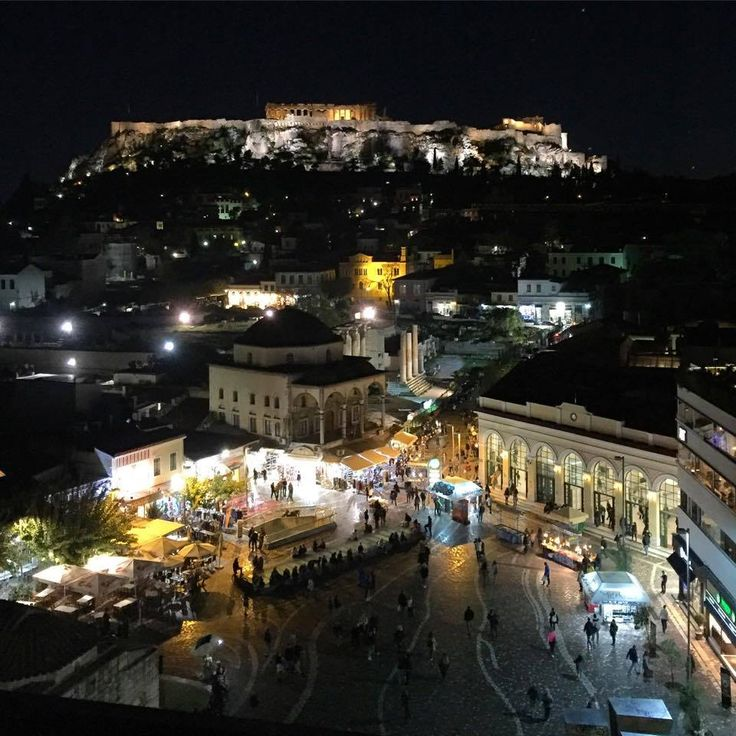 Monastiraki square.Central ATHENS