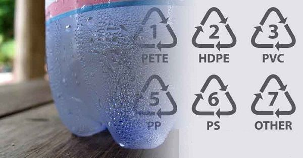 Notwithstanding, on the off chance that you are as yet a fanatic of plastic jugs, ensure you check the triangle on the base of the container.