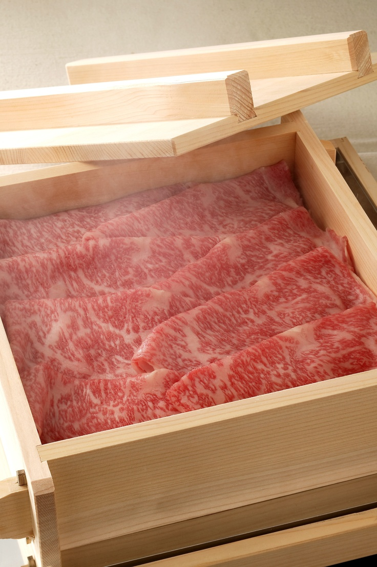 I really want to try some Kobe Beef.  {even tho I don't acutally eat beef...}