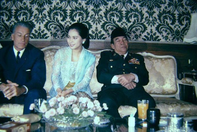 with the Presidenr RI, Soekarno