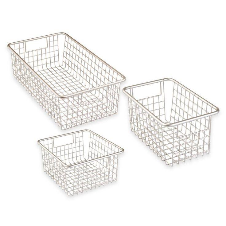 product image for InterDesign® Forma™ Cabinet Binz™ Metal Bin