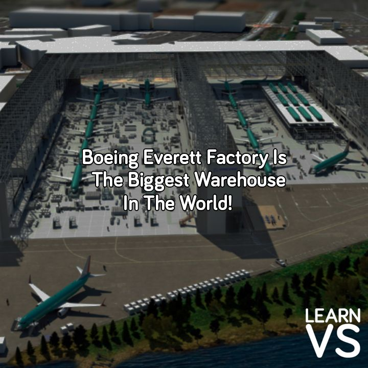The #Everett #Factory is home to #Boeing 767s, 777s and the #newest #787 #Dreamliner. #plane #airport #usa