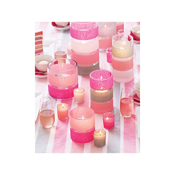 Baby Shower Centerpieces Idea for Girls found on Polyvore