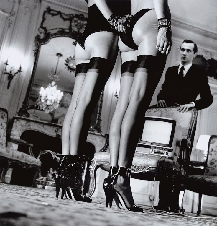 Private Property, Suite III - Two Pairs Of Legs In Black Stockings ...