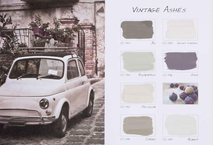 De nieuwe kleurenkaart VIntage Ashes van Carte Colori. Ontwikkeld in samenwerking met onze dealer Violier at Home.
