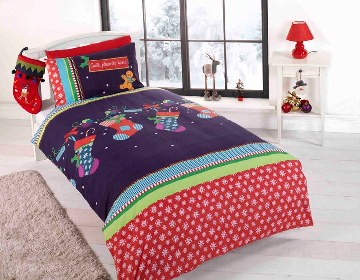 13 best Christmas bedding images on Pinterest   Christmas bedding ...
