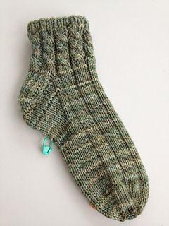 Entwined House Socks for Ladies by Margaret MacInnis