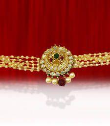 Buy Multicolor american-diamonds bajuband bajuband online