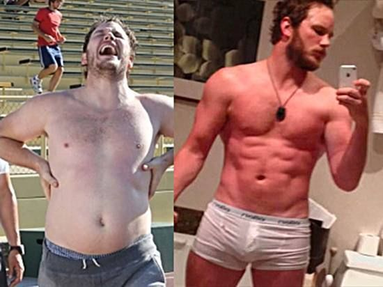 chris pratt 3 Chris Pratt lost 60 lbs in 6 months (9 photos)
