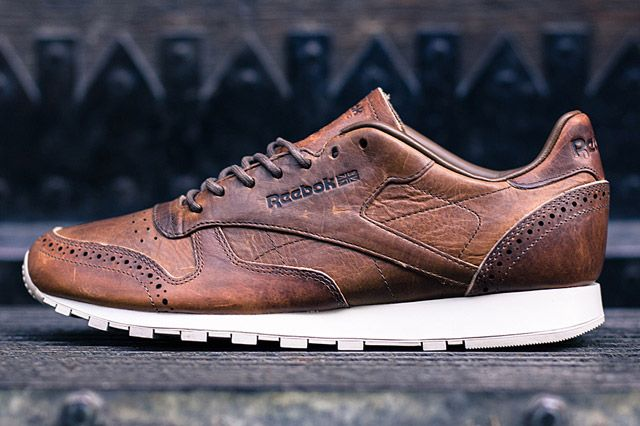 reebok men's leather shoes - 60% OFF