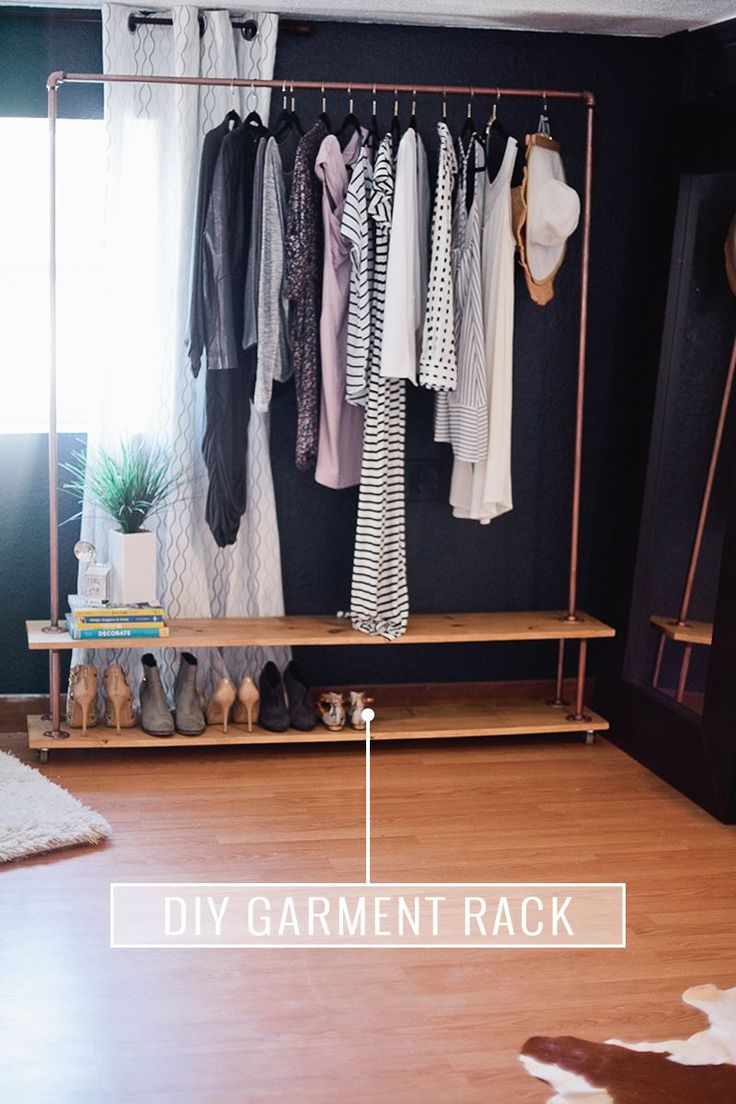 Best 25 diy wardrobe ideas on pinterest build a closet diy closet ideas and diy closet system Build your own bedroom wardrobes
