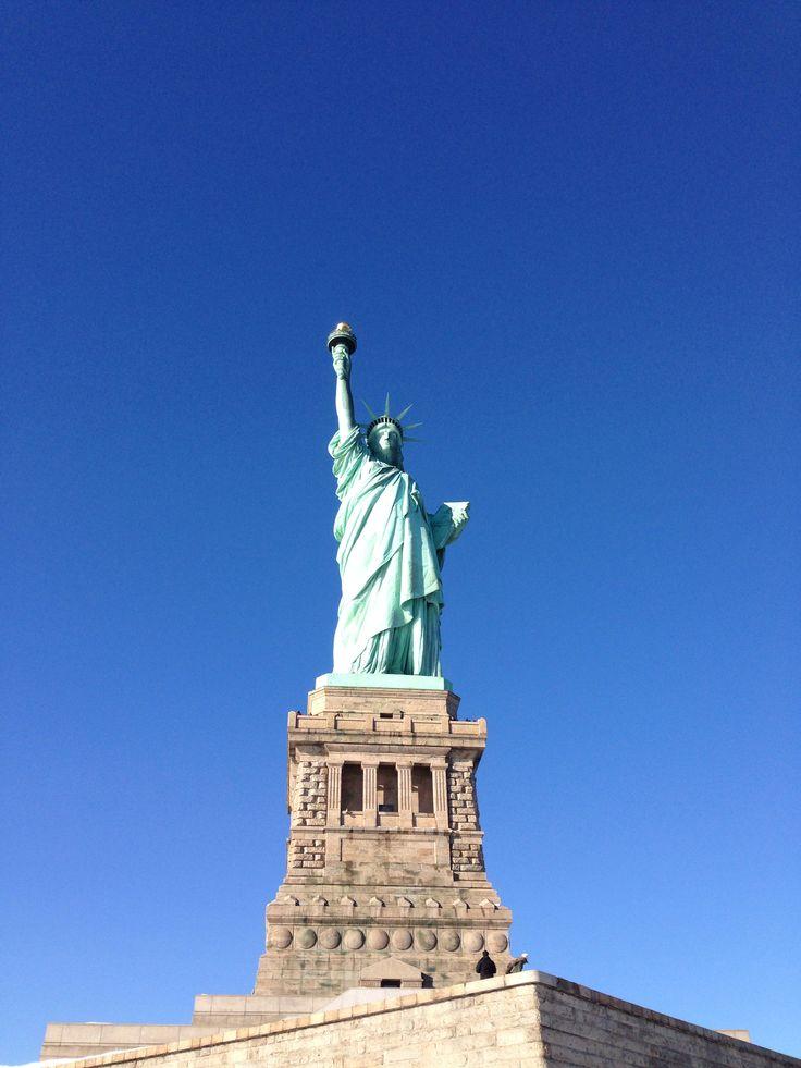Lady Liberty New York City january the 3th '14
