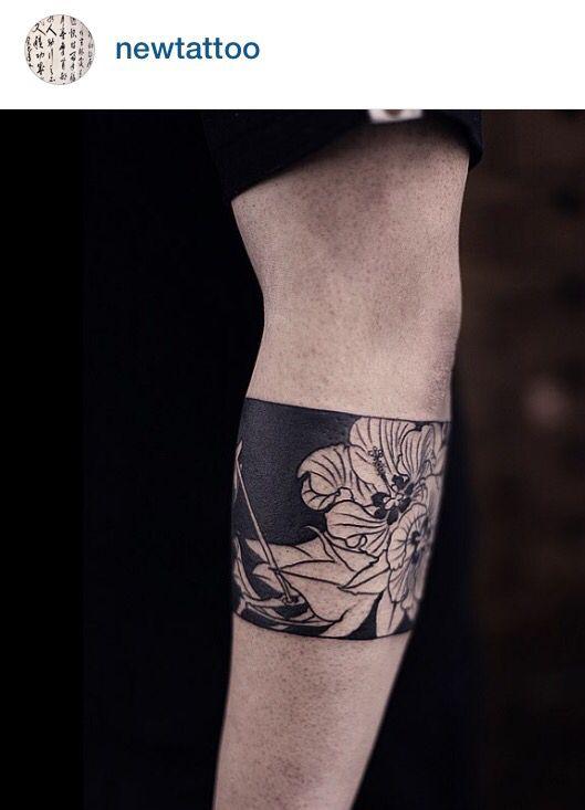 Newtattoo, Chen jie flower tattoo