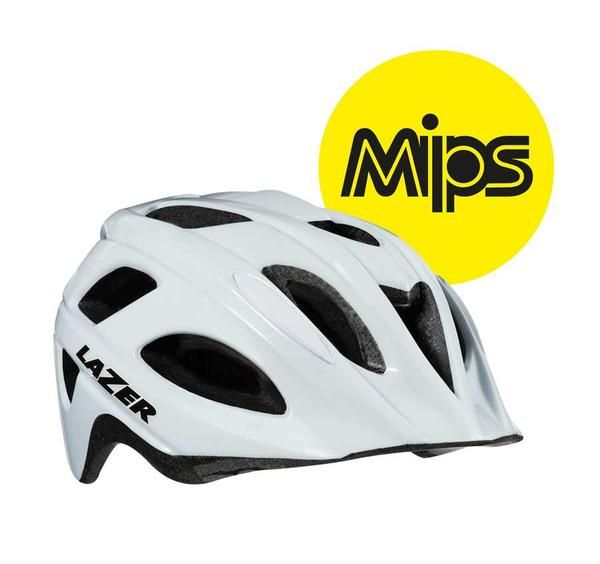 Protect Your Toddler With A Mips Helmet Providing The Maximum Level Of Protection For Your Toddler The P Nut Mips Helmet Has White Bike Bike Helmet Helmet