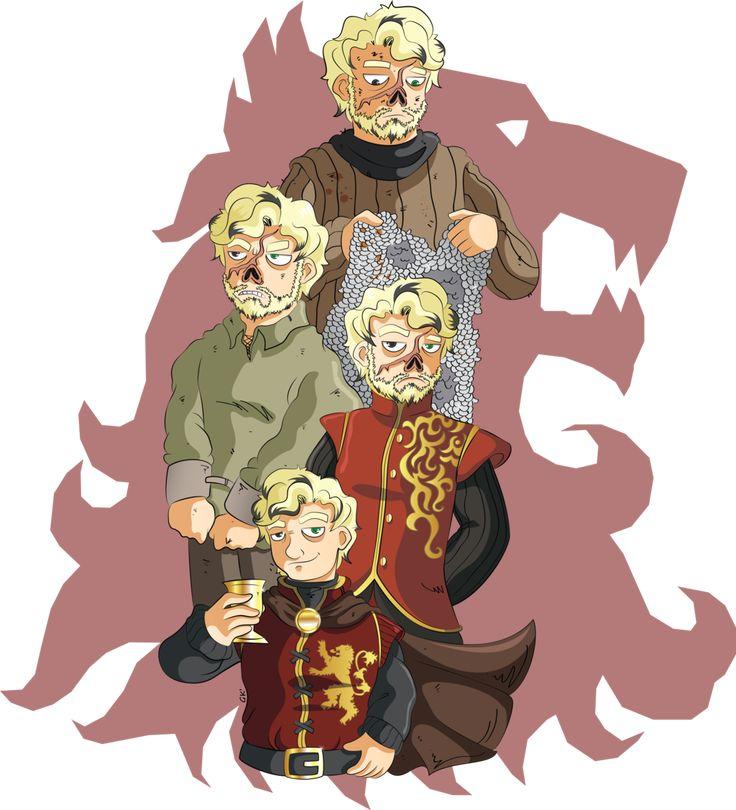 The evolution of Tyrion Lannister.  http://gabkt.deviantart.com/art/ASOIAF-Tyrion-Lannister-457867070?q=gallery%3AGabKT%2F6243512&qo=9
